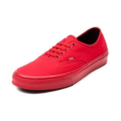 vans rojas completas