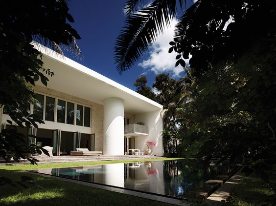 Oppenheim Architecture construye un receptor del clima tropical de Miami Beach