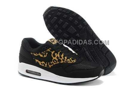 http://www.topadidas.com/nike-air-max-1-87-mens-black-leopard.html Only$79.00 #NIKE AIR MAX 1 87 MENS BLACK LEOPARD #Free #Shipping!