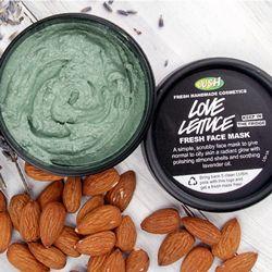 Love Lettuce fresh face masks | Fresh Face Masks | LUSH Cosmetics