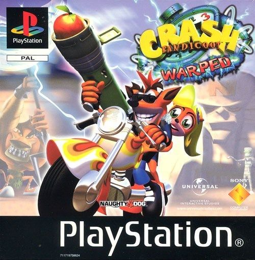 Juego Crash Bandicoot 3 Warped Para Playstation Aventuras Plataformas Super Juegos Juegos Pc Juegos Psx