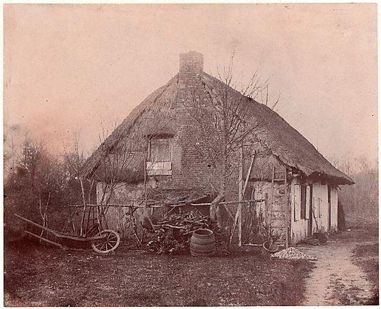 ferme au toit de chaume 1850 53 unknown french toits de chaume pinterest fran ais et. Black Bedroom Furniture Sets. Home Design Ideas