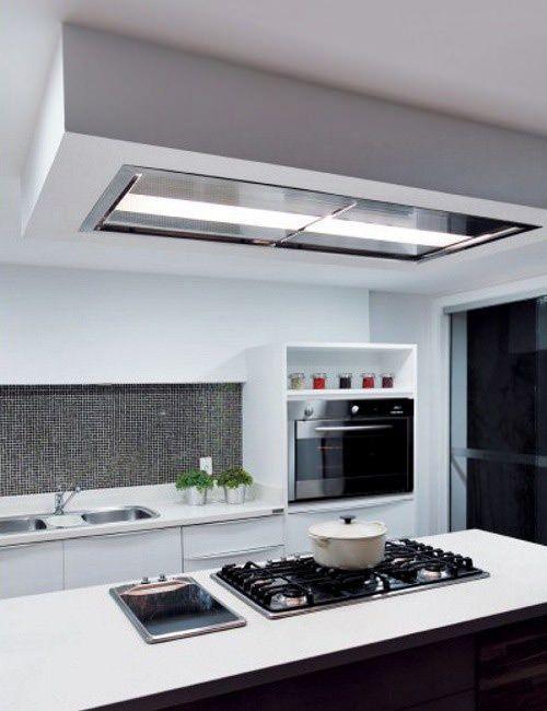 Futuro Futuro 54 Skylight Ceiling Soffit Range Hood Range Hood Kitchen Ventilation Kitchen Range Hood