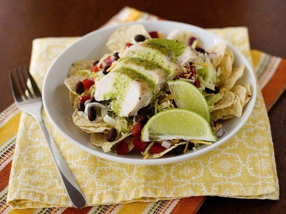 Tex-Mex Salad with Cilantro-Honey Dressing