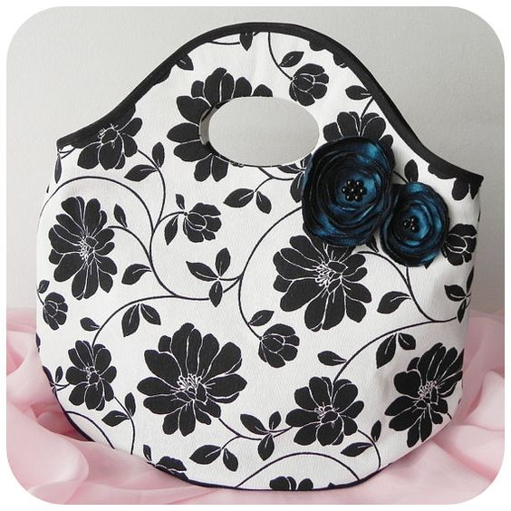 Nina Handbag PDF Pattern and Tutorial multipurpose by ThaisBags: