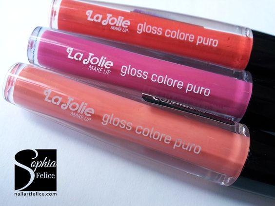 Lip Gloss Colore Puro La Jolie