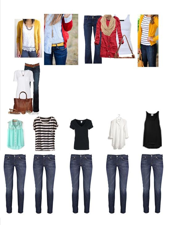 25 items, 50 outfits
