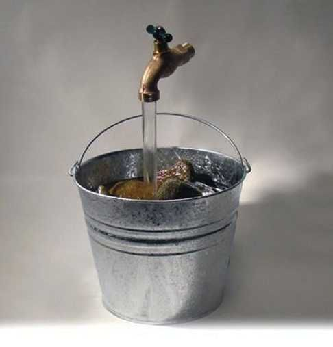 Floating Water Tap Fountains Adding Magic Illusions And
