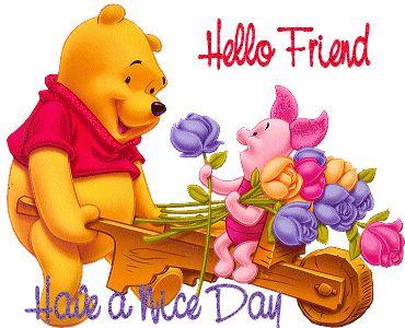good afternoon pooh   การแนะนำตัวเองและผู้อื่� ...