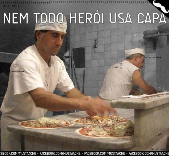 #Herói Pizzaiolo #Pizza
