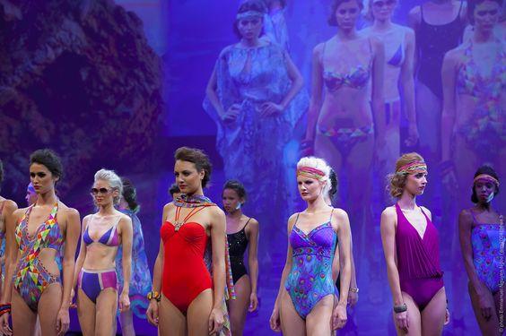 Gottex - The Selection runway show - Salon International de la Lingerie et du Swimwear Mode City