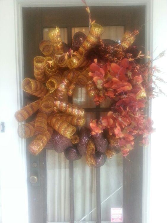 Fall wreath by kara