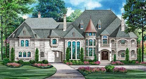 Chesterfield Ii House Plan In 2020 Luxury Plan Mansion Floor Plan Big Mansions