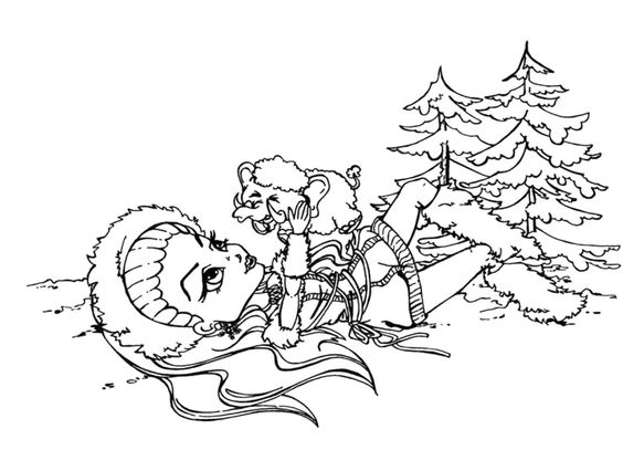 abbey bominable coloring pages - photo#29