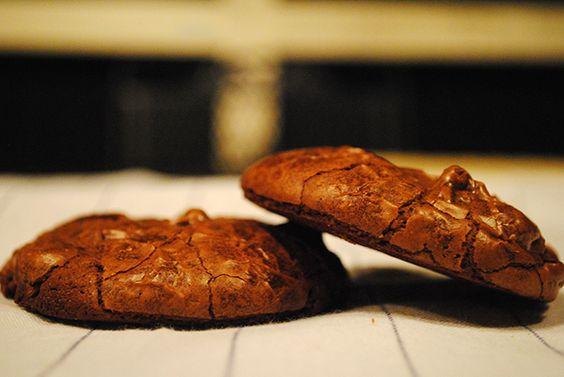 Double chocolate brownie cookie Recipe • CakeJournal.com