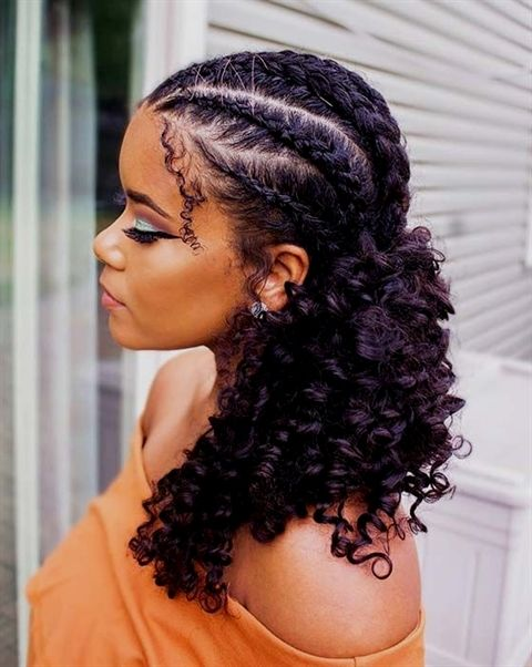 How To Do Dutch Braid On Curly Hair Step By Step Tutorial Braided Hairstyles Easy Curly Hair Styles Braided Hairstyles