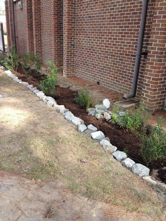 Ta-da! #raingarden finished at Edgecombe Community College #ptrf ptrf.org