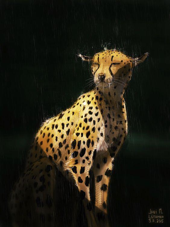 Gepard, Jani M. Löthman on ArtStation at https://www.artstation.com/artwork/o0GnO