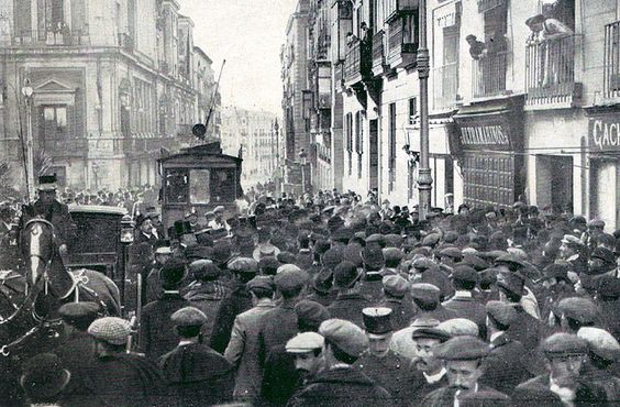 protestas 1910