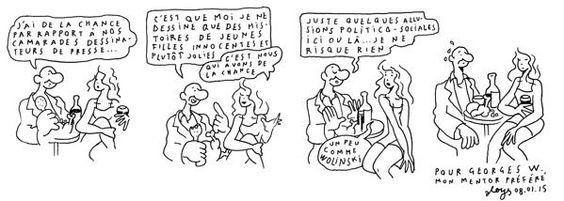 Aloys: Hommage à Charlie Hebdo par des illustrateurs romands