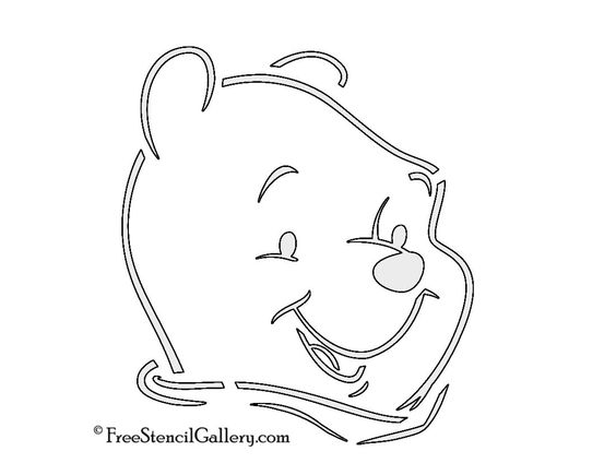 Pinterest the world s catalogue of ideas for Winnie the pooh pumpkin carving templates