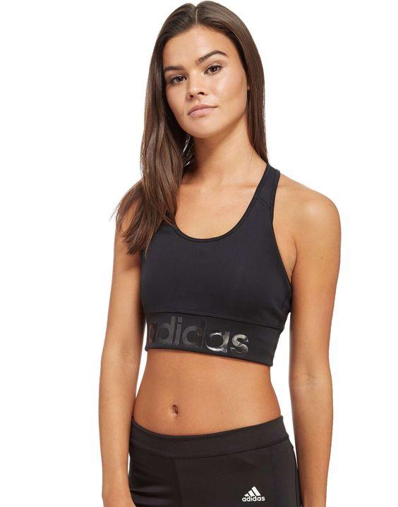 adidas Sports Essentials Linear Sports Bra - Shop online for adidas Sports  Essentials Linear Sports Bra