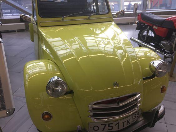 Ситроен 2CV 1965 года