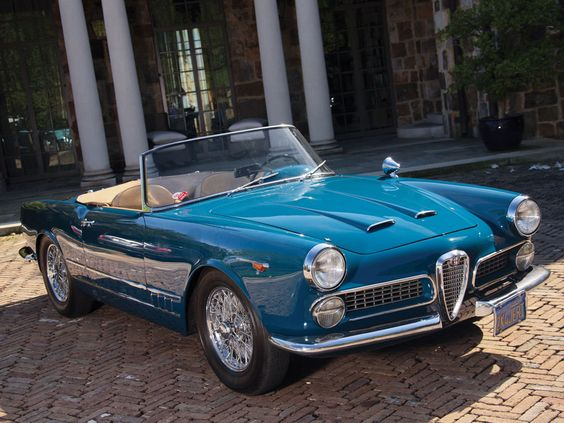 1962 Alfa Romeo 2000 Spider by Touring:
