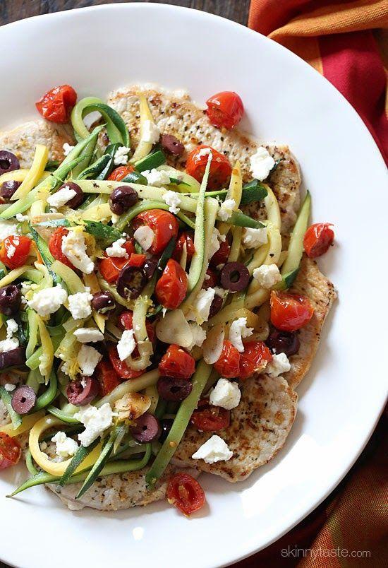 Chops | Skinnytaste |Thin, lean boneless pork chops are pan seared ...
