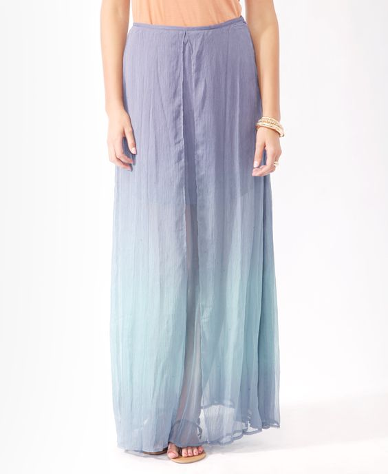 Layered Ombré Maxi Skirt   FOREVER21 - 2000034271