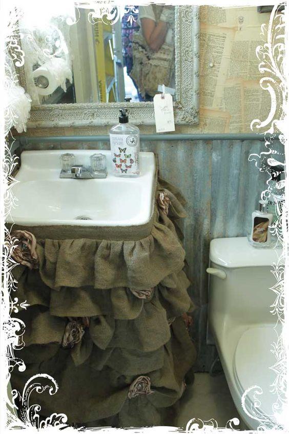 cortina pia de banheiro