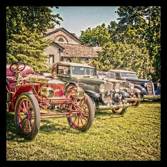 Hagley Museum and Library plays host to an excellent car show in Wilmington, DE!
