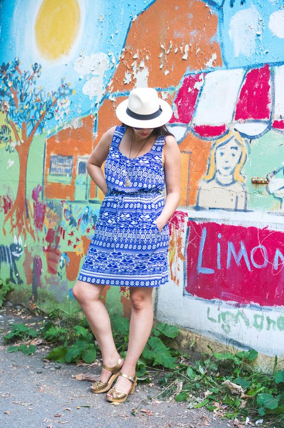Southport Dress by True Bias in Rayon Challis // Closet Case Files