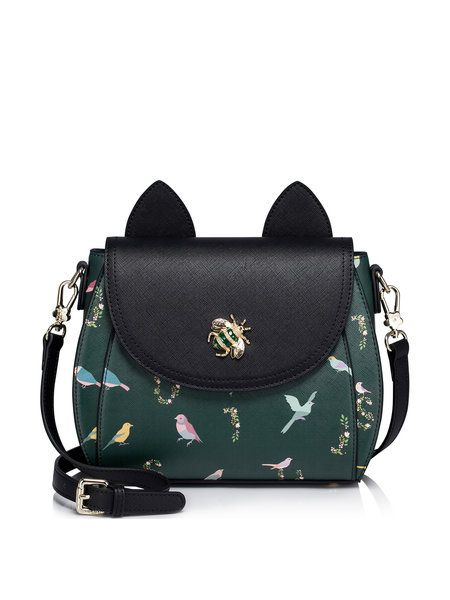 Shop Satchels - Green Small PU Casual Satchel online. Discover unique designers fashion at StyleWe.com.: