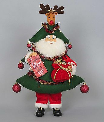 Ebay Ad Link Christmas Decorations Santa With Lighted Christmas Tree Costume In 2020 Decorating With Christmas Lights Tree Costume Tree Toppers