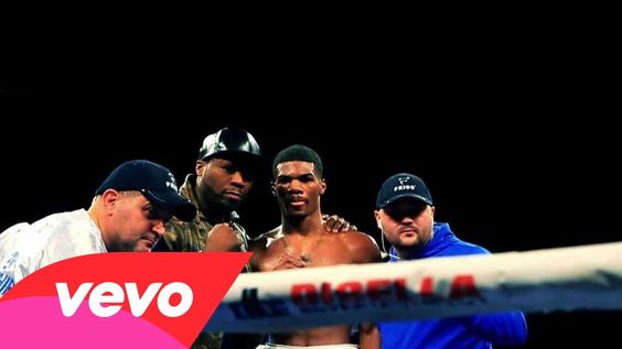 """This is a music video of the song """"Winners Circle"""" off of 50 Cent's new album Animal Ambition set to come out on June 3rd. This song I love specifically because it is all about hard work and dedication. In the video, he compares his life to the life of a boxer showing how much hard work both take. At the end of the video, it shows the boxer and 50 Cent come together and show the mutual respect for the hard work that they both put in in different ways."""