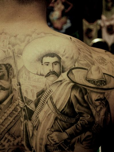 Zapata And Villa Tattoos
