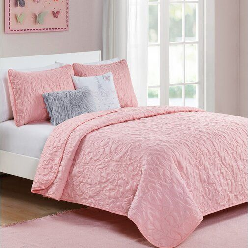 Clodfelter When In Paris Reversible Quilt Set Reviews Joss Main Duvet Cover Sets Bedding Sets Twin Xl Bedding Sets