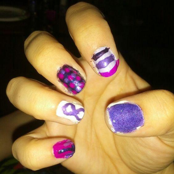 Purple For Epilepsy Day nails #EverythingPurpleEverywhere