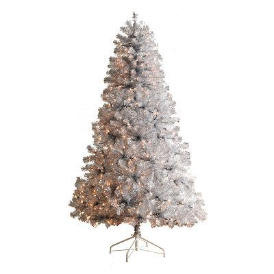 I love a silver tree. I'd prefer an authentic vintage one, but I'd certainly take this!