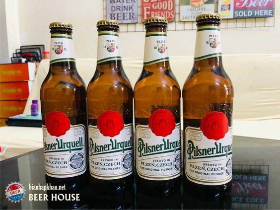 Bia pilsner urquell chai 330ml