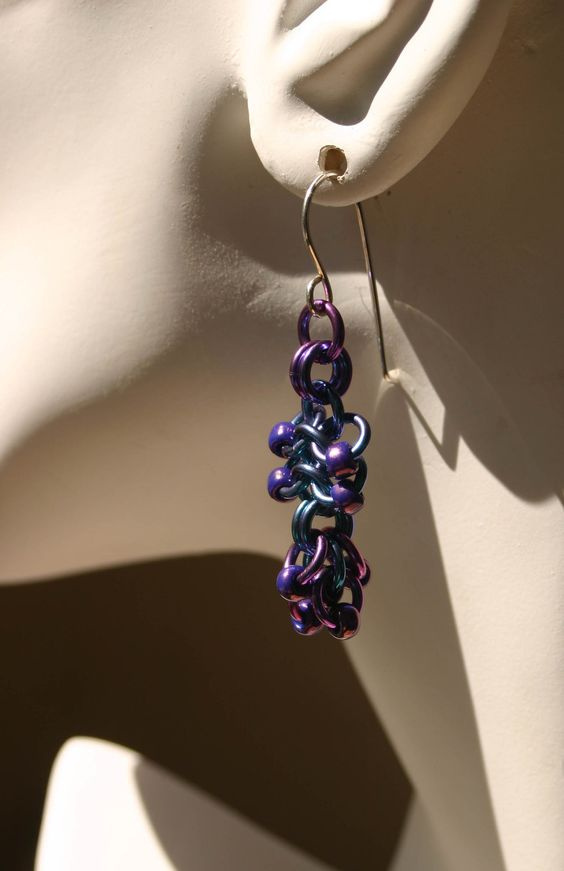 Chainmaille (Euro 4 in 1 variant) by MoonlightingArtistry