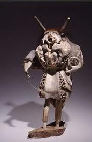 Image result for Wooden Inuit shaman sculpture