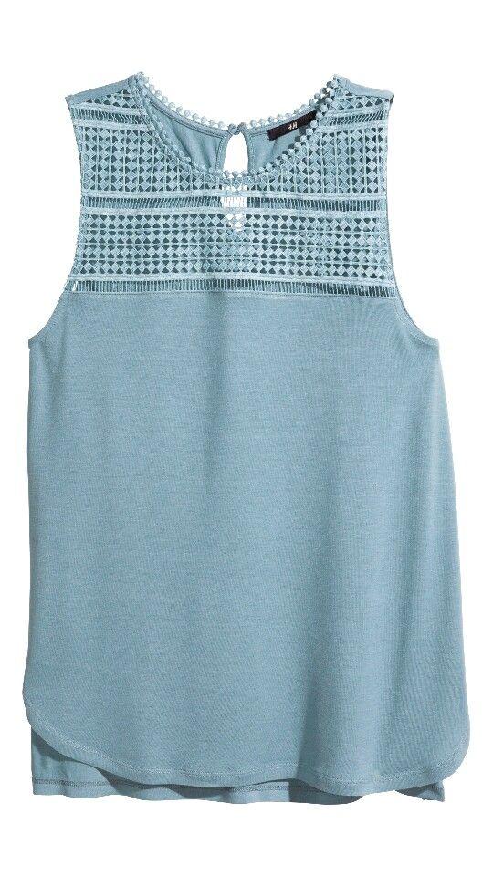 Cute laced vest