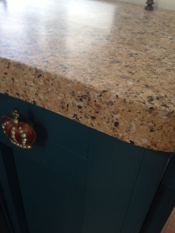 black countertop with sparkles