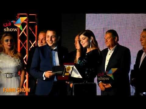 شوف فرحة ليلي أحمد زاهر بأول تكريم لها بعد نجاحها في الفتوة Celebrities Talk Show Concert