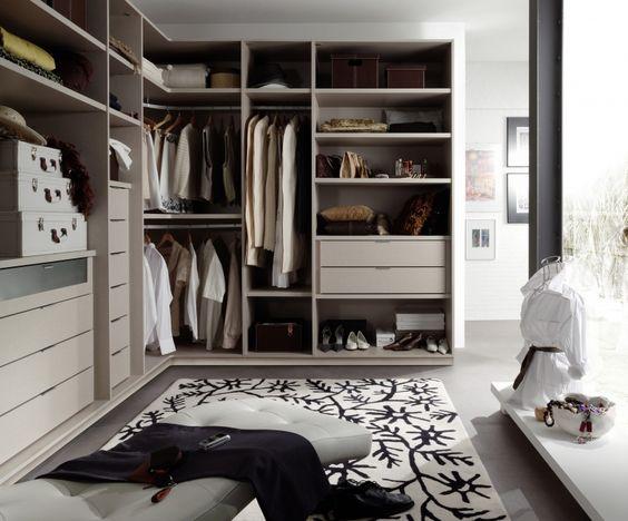Vestidor rinconero abierto barcelona closet armarios y vestidores - Armarios abiertos ...