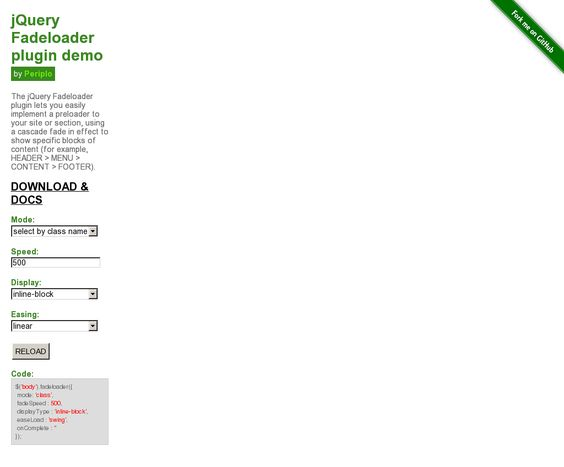 Website 'http://periplox.github.io/jquery.fadeloader/'
