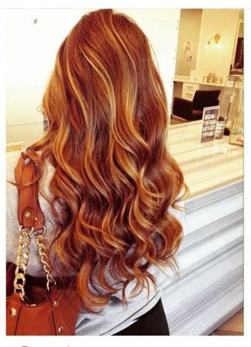 50 Red Hair Color Ideas With Highlights Hairstyles Update Red Blonde Hair Red Hair With Blonde Highlights Hot Hair Colors