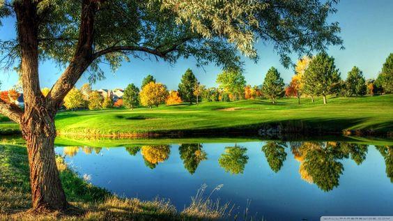 Wallpaper: Golf Course Landscape Wallpaper 1080p HD. Upload at ...